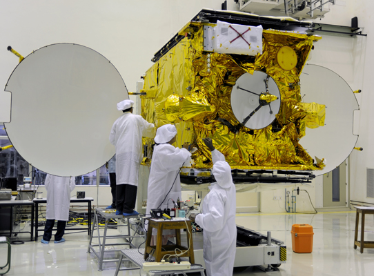 Custom Tool Solution Helps Launch Satellite Program